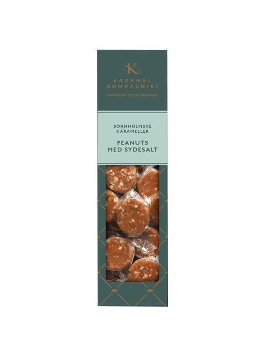 Karamel Kompagniet - Flødekarameller - Peanuts og Sydesalt - 138 gr.